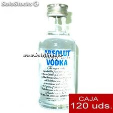 Vodka Absolut 5cl caja de 120 uds