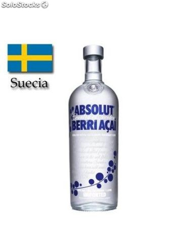Vodka Absolut Acai Berry 100 cl