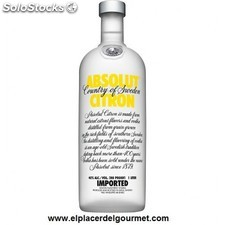 Vodka absolut citron bot. 70 cl.