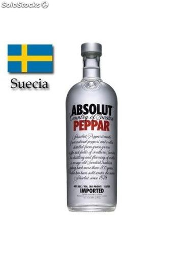 Vodka Absolut Peppar 100 cl