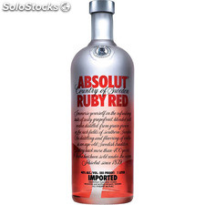Vodka absolut ruby red pomelo - absolut - 7312040080106 - GMVOD00107