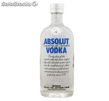 Vodka adsolut 70 Cl