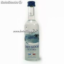 Vodka Grey Goose 5cl envase de cristal