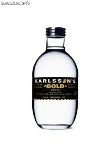 Vodka Karlssoon,s Gold 70 cl