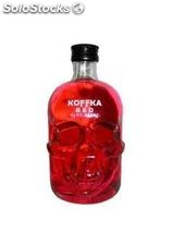 Vodka Kofka Calavera Red 70 cl