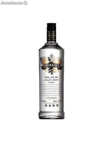 Vodka Smirnoff Black 100 cl