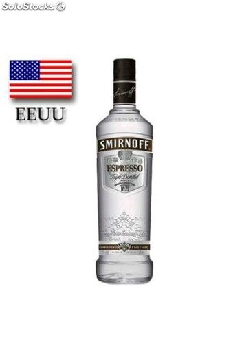 Vodka Smirnoff Espresso Twist 100 cl