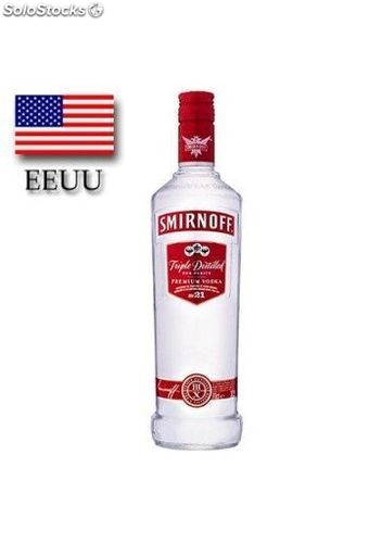 Vodka Smirnoff Red 70 cl