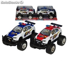 Voiture de police 4X4 a friction