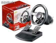 Volante genius gamer speed wheel 5 pro vibration - pc/PS3 - usb