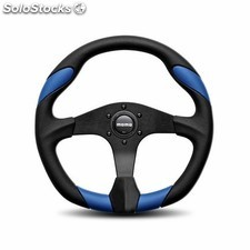 Volante momo quark 350 black-blue