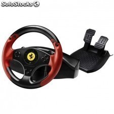 Volante thrustmaster ferrari red legend edition - 2 pedales con reposapies - 2
