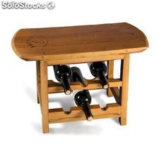 Vranac Wine Rack Stool