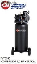 Vt5595 compresor 3,2 hp vertical campbell (Disponible solo para Colombia)