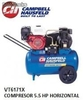 Vt6171x compresor campbell 5,5 hp Gasolina (Disponible solo para Colombia)