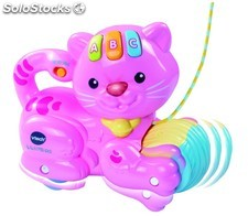 Vtech 1.2.3 ptit chat rose