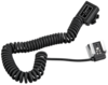 walimex Cable espiral para flash Canon TTL II, 2 m