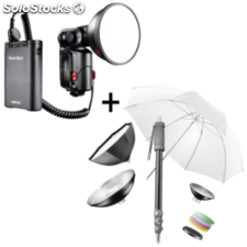 walimex pro Light Shooter 180 incl. Powerblock + accesorios