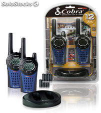 Walkie Talkie PMR MT975C Cobra alcance de 12 km