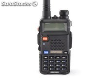 Walkie VHF-UHF Bibanda UV-5RE Baofeng ideal para senderismo o escalada