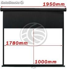 Wall Projection Screen 1780x1000mm 16:9 DisplayMATIC black (OW32)