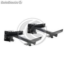 Wall speaker stand up to 15Kg (SP-114) 2 units (OU64)