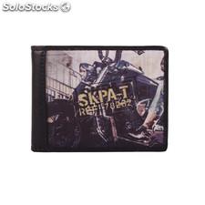 Wallet 26903 estampillée mark skpa t Noir
