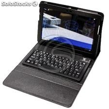 Wallet for Samsung Galaxy Tab 10.1 with Bluetooth keyboard (KP16)