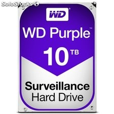 Wd disco duro purple 10TB 3.5""