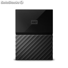 Wd My Passport for Mac 4000GB Black external hard drive WDBP6A0040BBK-wesn
