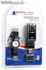 Web Cam para notebook Shark Net Sn-travel800