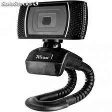 Webcam con microfono trust trino video hd 720P con boton para foto 8 mgpx usb