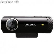 Webcam creative live! cam chat hd - sensor hd 1MPX 1280x720 - enfoque fijo -