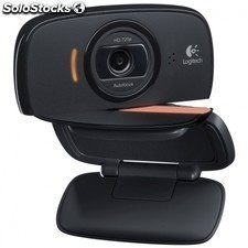 Webcam LOGITECH c525 - hd 720p - enfoque automatico - fotos 8mp - mic.