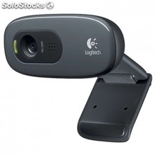 Webcam logitech hd C270 - hd 720P - fotos 3MPX - microfono integrado con