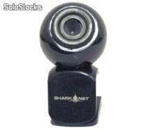 Webcam shark net sn-w601 black 1300k con microfono