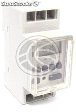 Weekly Digital electric programmer type DIN rail 35mm (DO84)