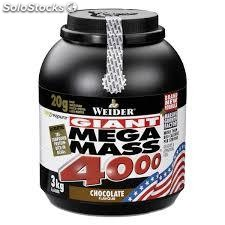 Weider - Mega Mass 4000 Weight Gainer /3KG