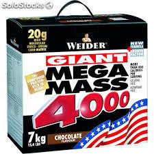 Weider - Mega Mass 4000 Weight Gainer 7000g / 7kg