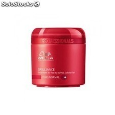 Wella brilliance mascarilla cabello fino/normal 150 ml