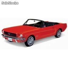 Welly 1:18 ford mustang convertible 1964