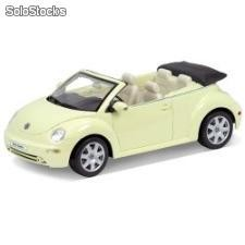 Welly 1:18 vw - volkswagen new beetle convertible