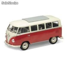 Welly 1:24 - 1962 vw-volkswagen classical bus