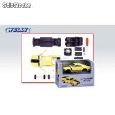 Welly 1:24 ford mustang '70 - kit do składania