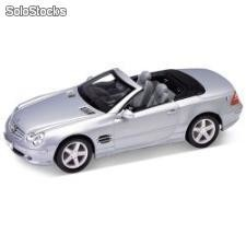 Welly 1:24 mercedes-benz sl500 cabriolet