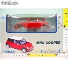 Welly 1:24 mini cooper - kit do składania