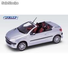 Welly 1:24 peugeot 206 cc