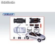 Welly 1:24 peugeot 206 cc - kit do składania