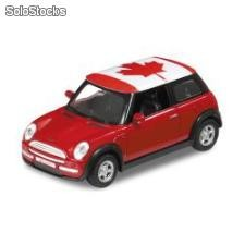 Welly 1:34 mini cooper - kanada