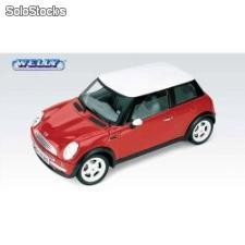 Welly mini cooper skala 1:34
